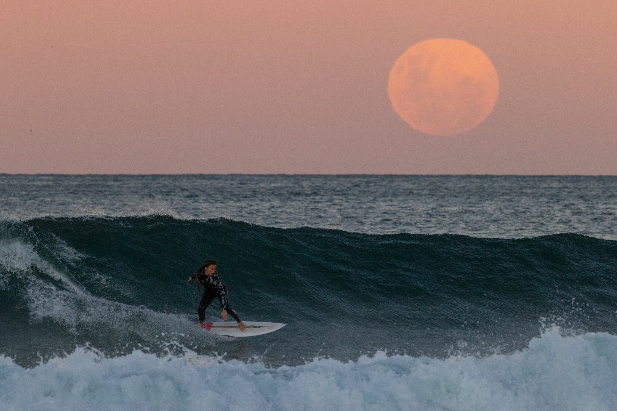 Видео дня. «Цветочная Луна» на Гавайях