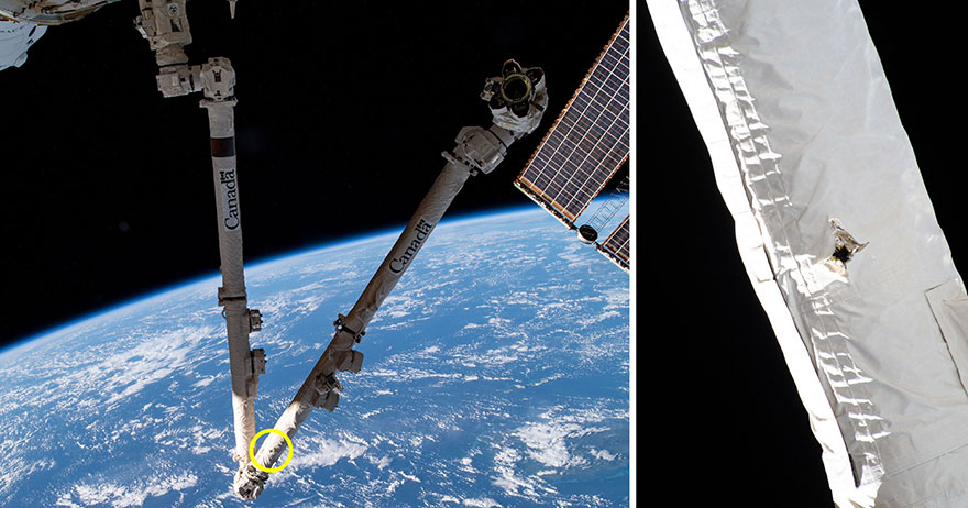 Фото — NASA / Canadian Space Agency.