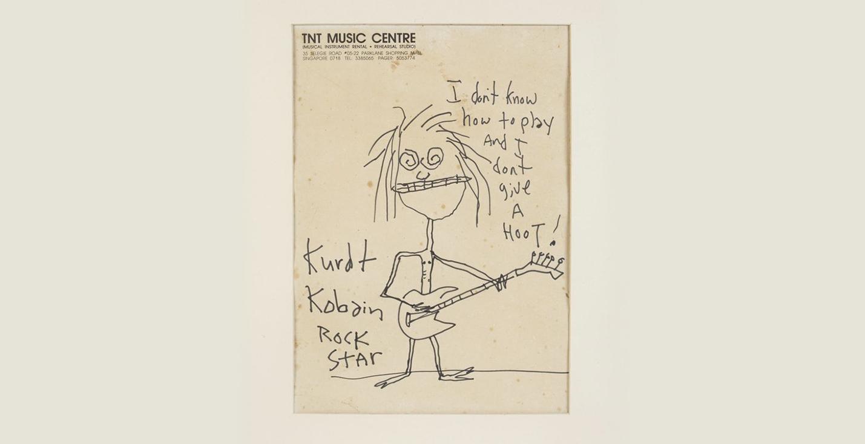 Автопортрет Курта Кобейна продали на аукционе за 281 тысячу долларов