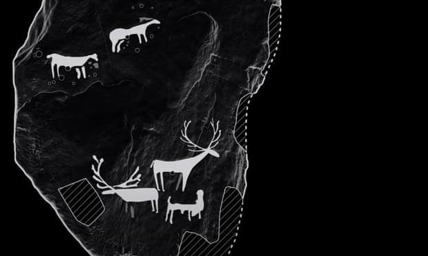 Шотландский археолог-любитель обнаружил самые древние на острове рисунки оленей