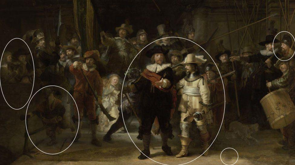 Искусственный интеллект восстановил картину Рембрандта «Ночной дозор»
