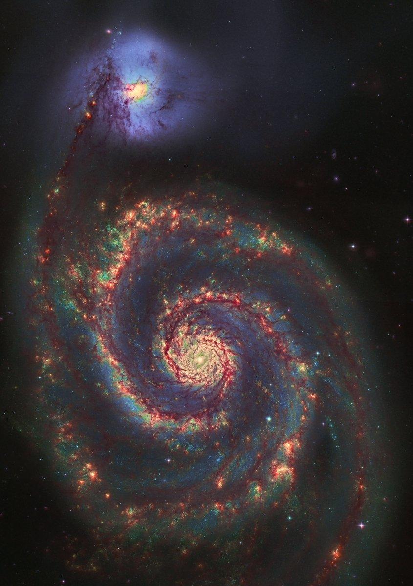 Галактика Водоворот. Фото — Серхио Диас.