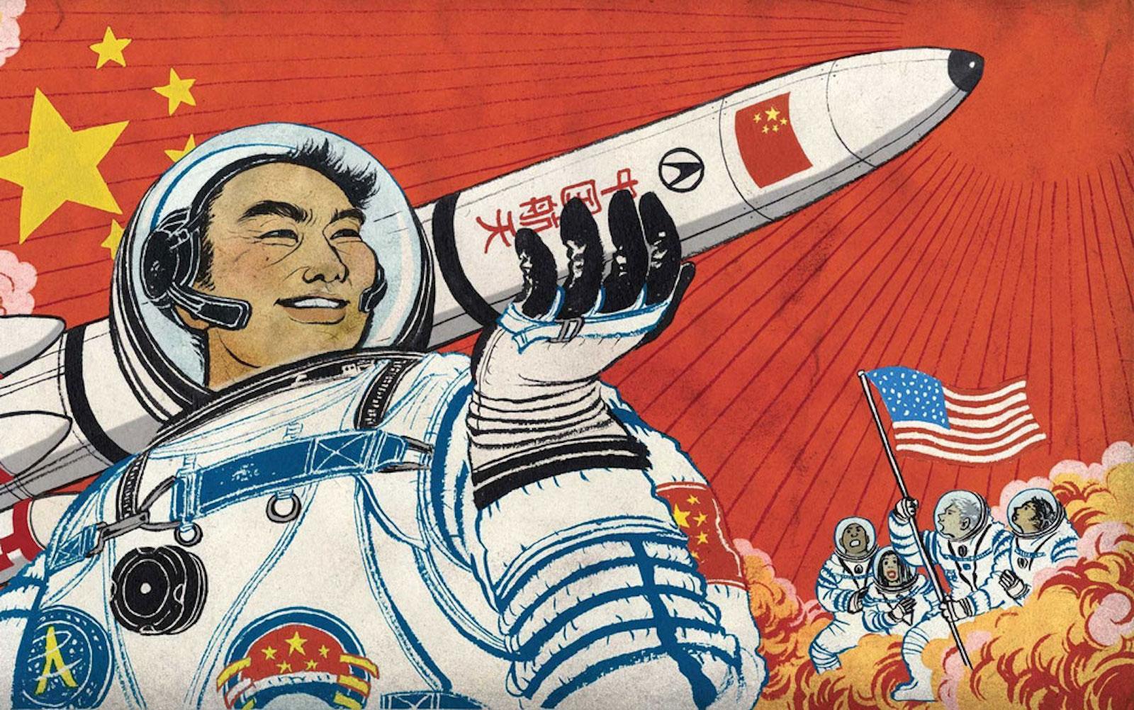 Китай планирует отправить людей на Марс в 2033 году. И построить там космическую базу