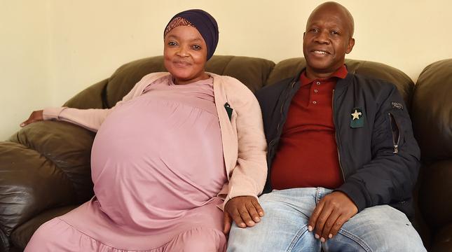 Женщина из ЮАР, которая родила десятерых детей, пропала вместе с малышами