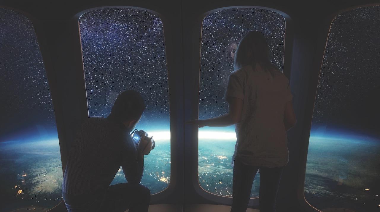 Space Perspective начала продажу билетов в стратосферу Земли на воздушном шаре. Тоже дорого