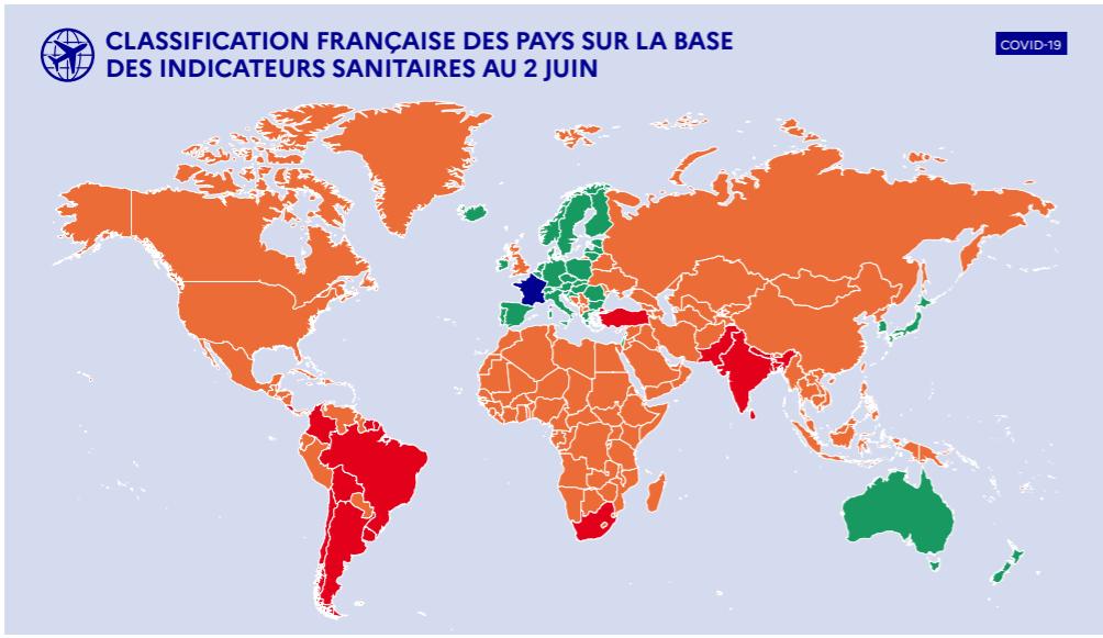 Скриншот — сайт правительства Франции.