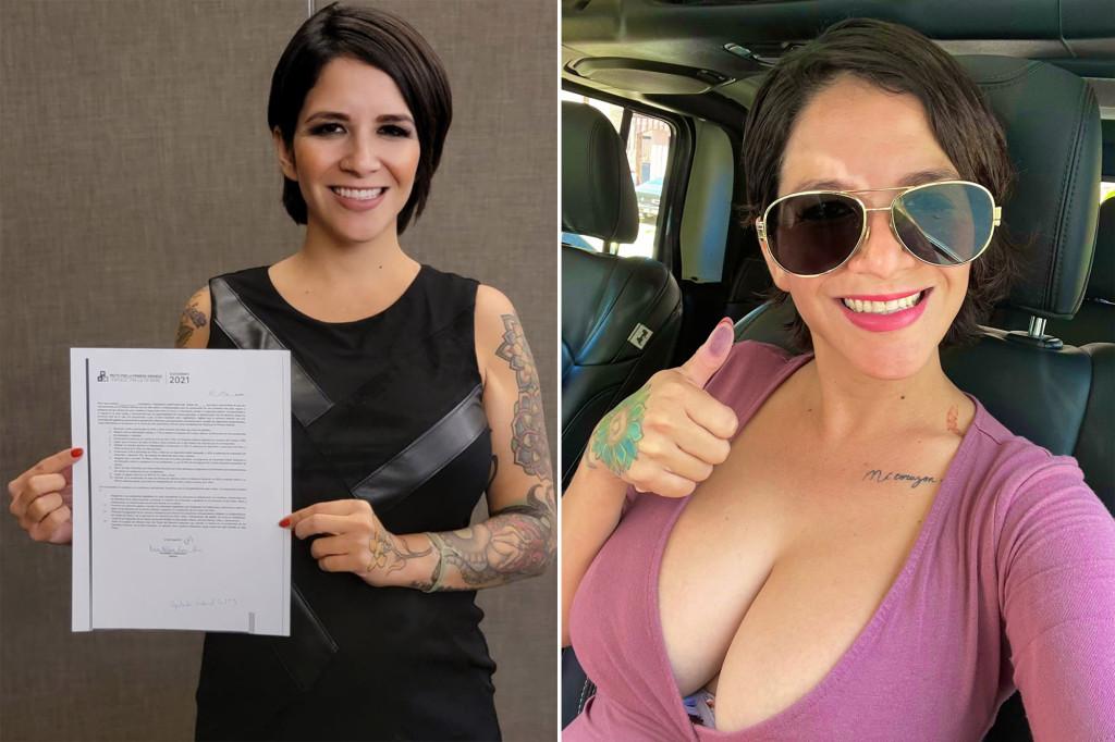 Мексиканская модель OnlyFans идет в депутаты и обещает избирателям увеличение груди