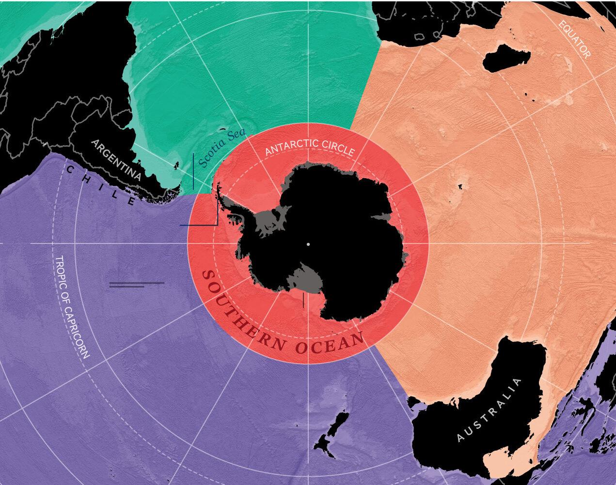 National Geographic признала существование Южного океана. Объясняем, почему