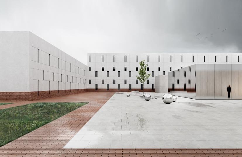 Это точно тюрьма? Львовские архитекторы представили проект нового СИЗО
