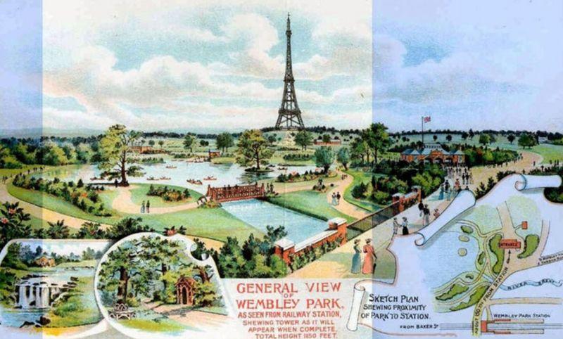 В Лондоне должна была появиться своя Эйфелева башня, но еще выше. Вот ее история