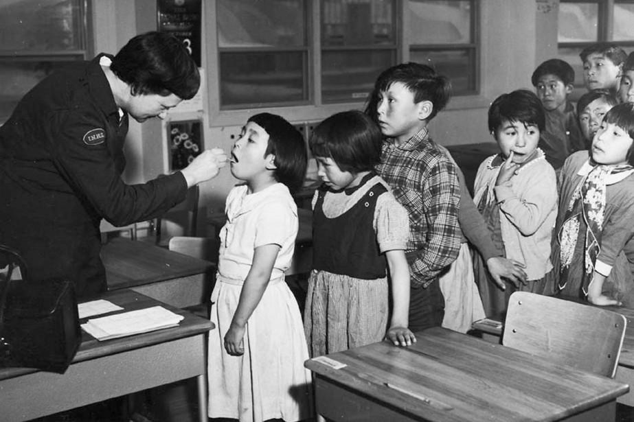 Школа-интернат имени Святой Анны, Онтарио. Фото —Archives of Ontario