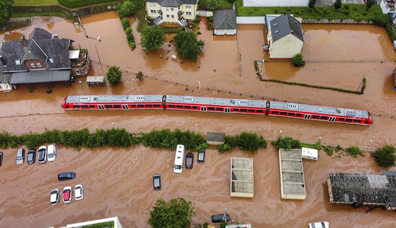 Паводки в Европе. 150 человек погибли. Только фото