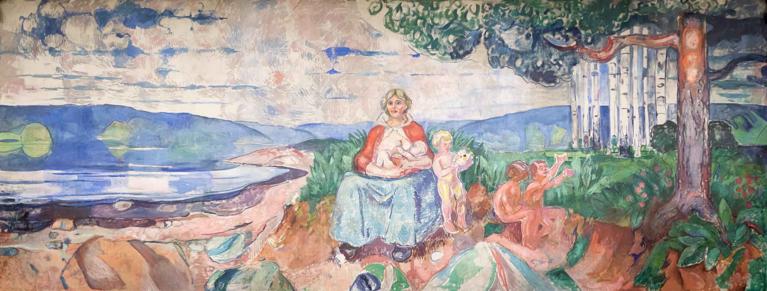 Картина «Альма Матер» Эдварда Мунка.