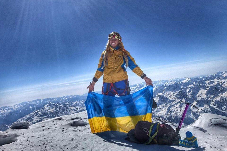 Украинка впервые покорила одну из опаснейших вершин в мире
