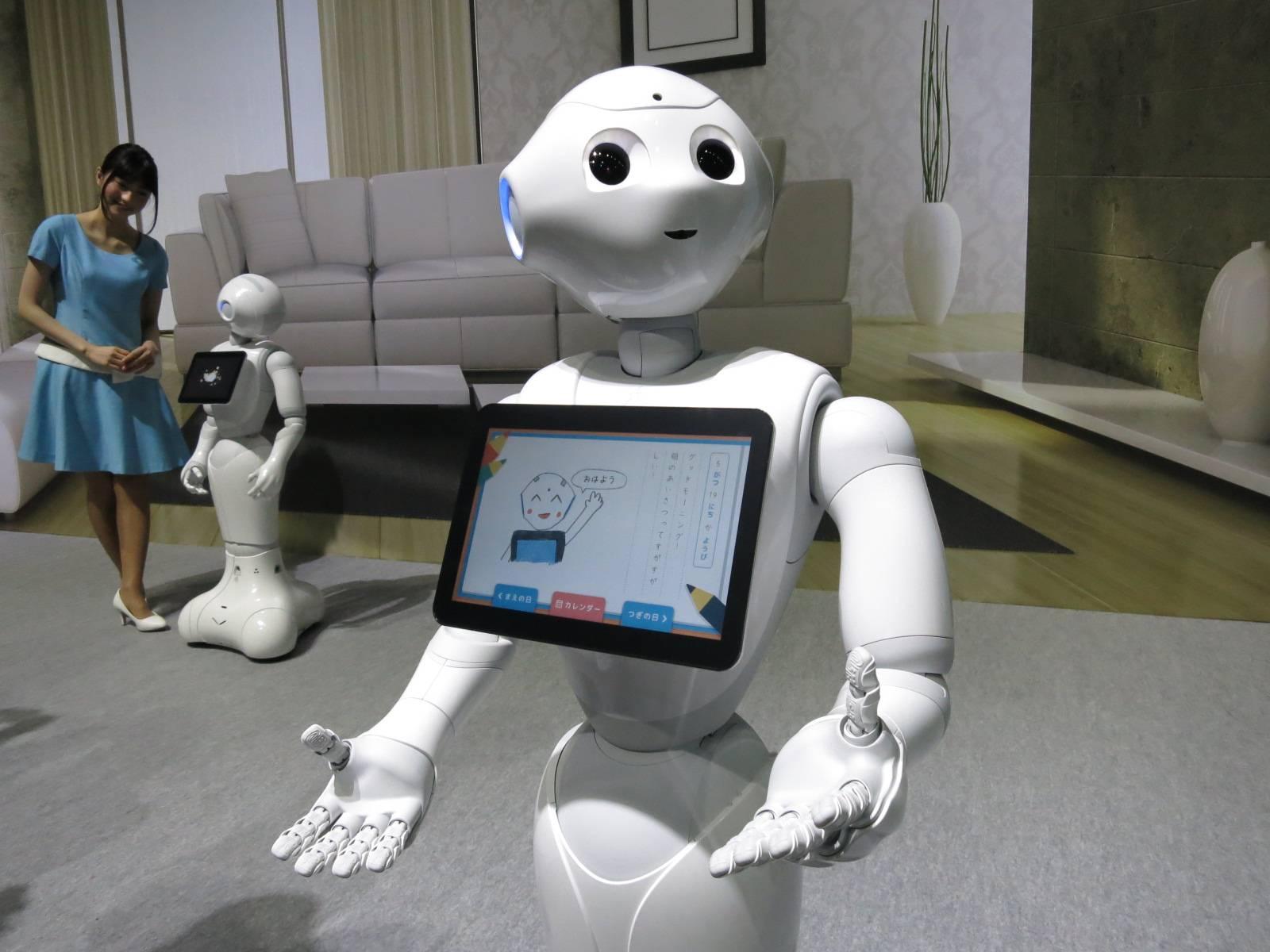 Японский робот, который умеет читать эмоции людей, был уволен почти со всех своих работ
