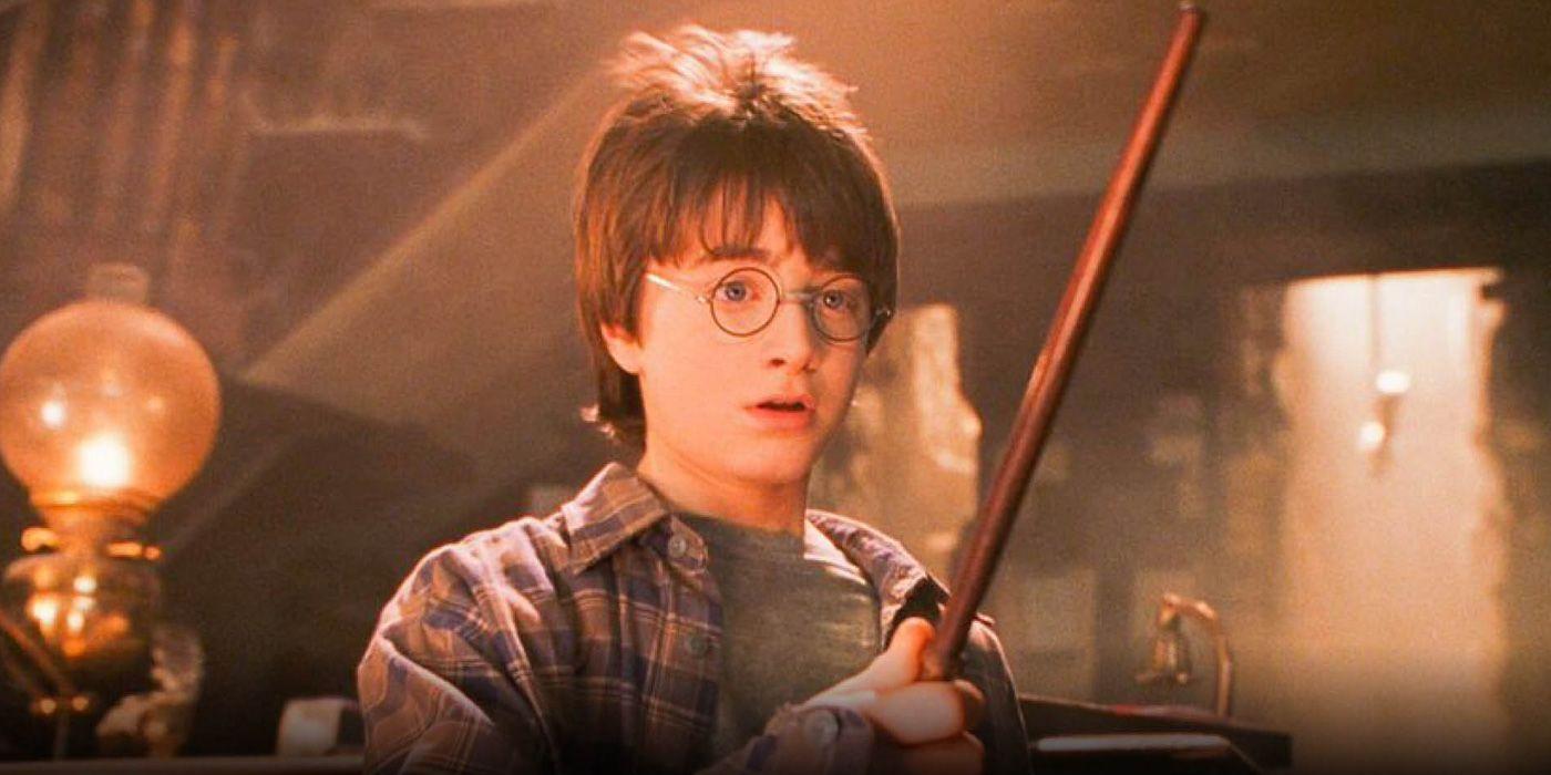 Кадр из фильма «Гарри Поттер и философский камень».