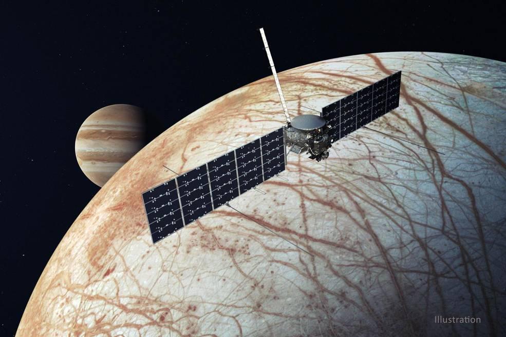 NASA и SpaceX будут искать жизнь на спутнике Юпитера. В 2024-м к Европе отправят зонд