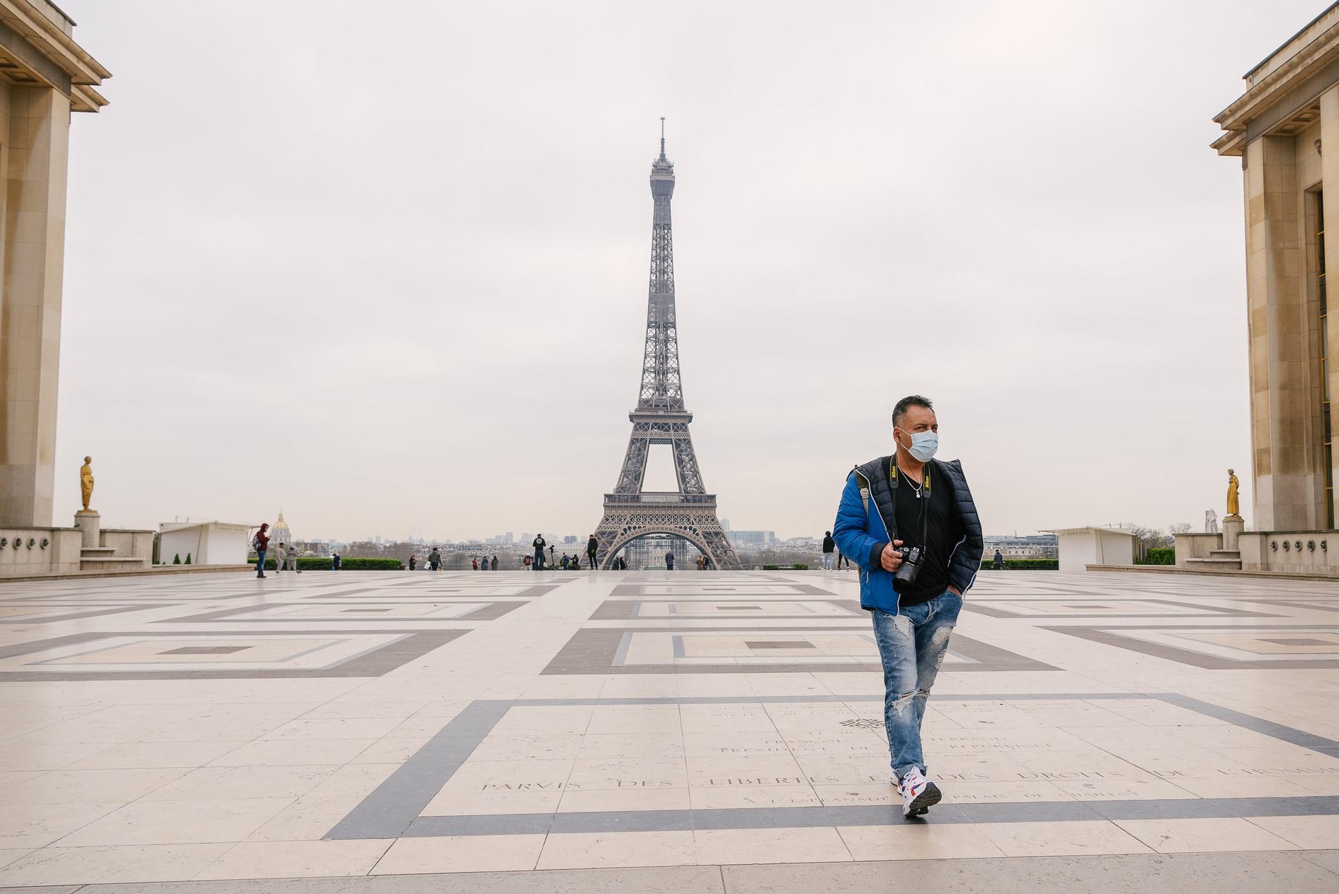 Париж во время пандемии. Фото – Unsplash.