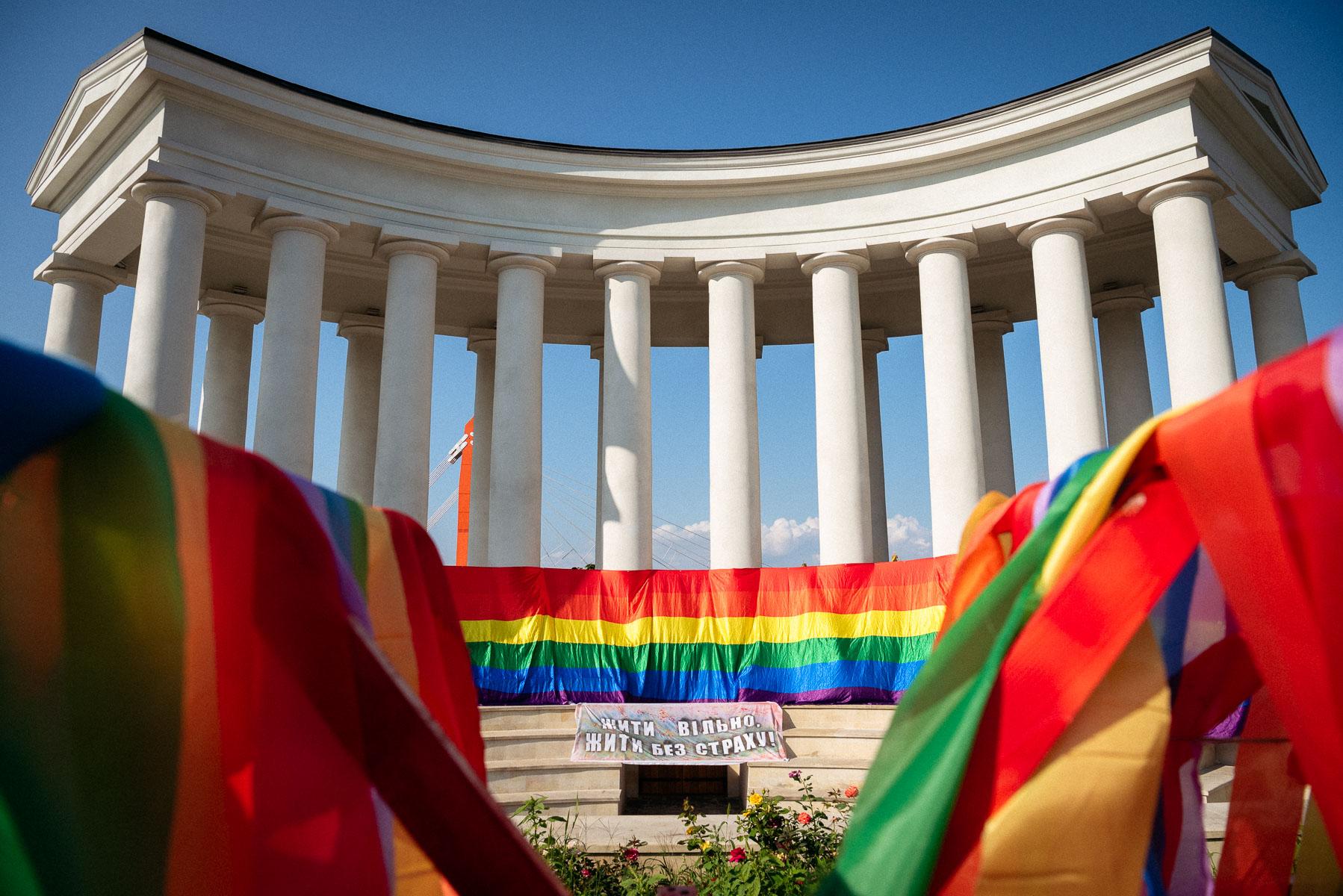 Задержания, стычки, «Хэппи прайд». Фоторепортаж Игоря Горы с ЛГБТ-марша