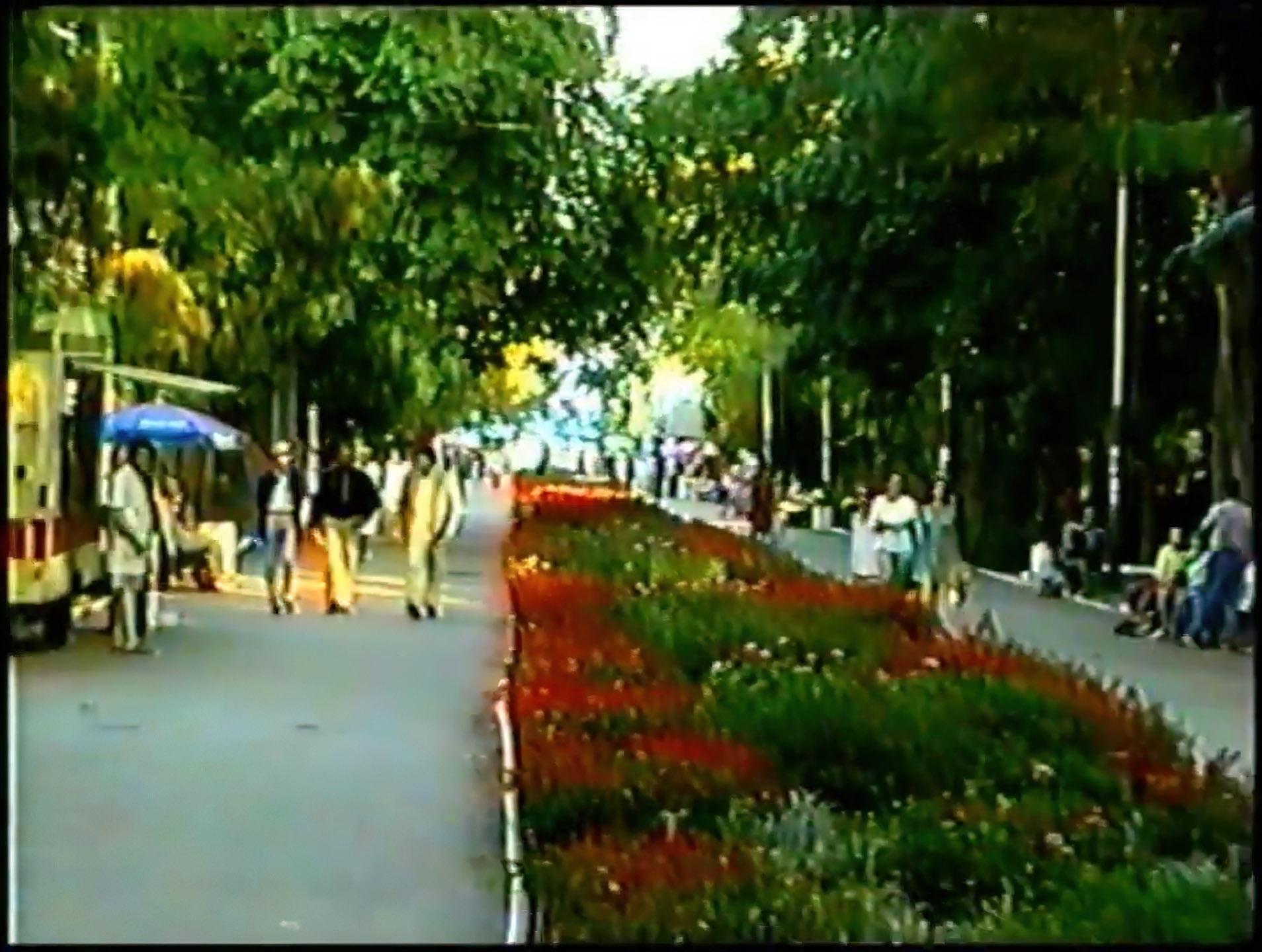 Кадр из видео канала JLTCCF1, 1998 год.
