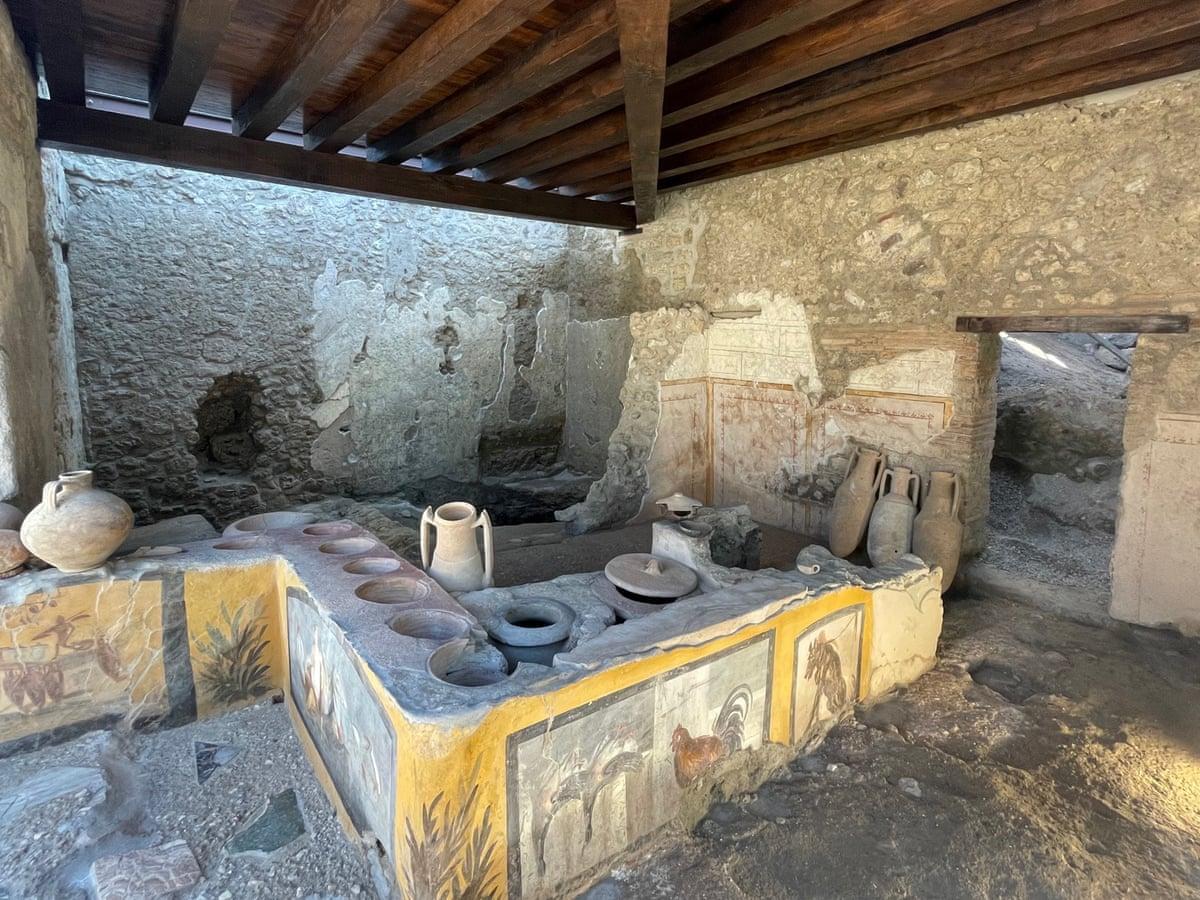 В Помпеях открывается античный фастфуд