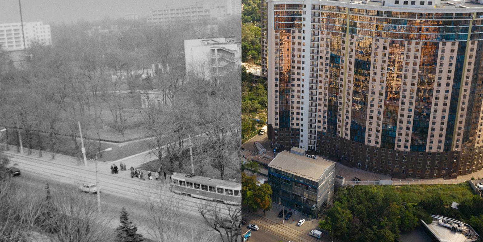 Как изменились украинские города за 30 лет. Самые показательные фотографии