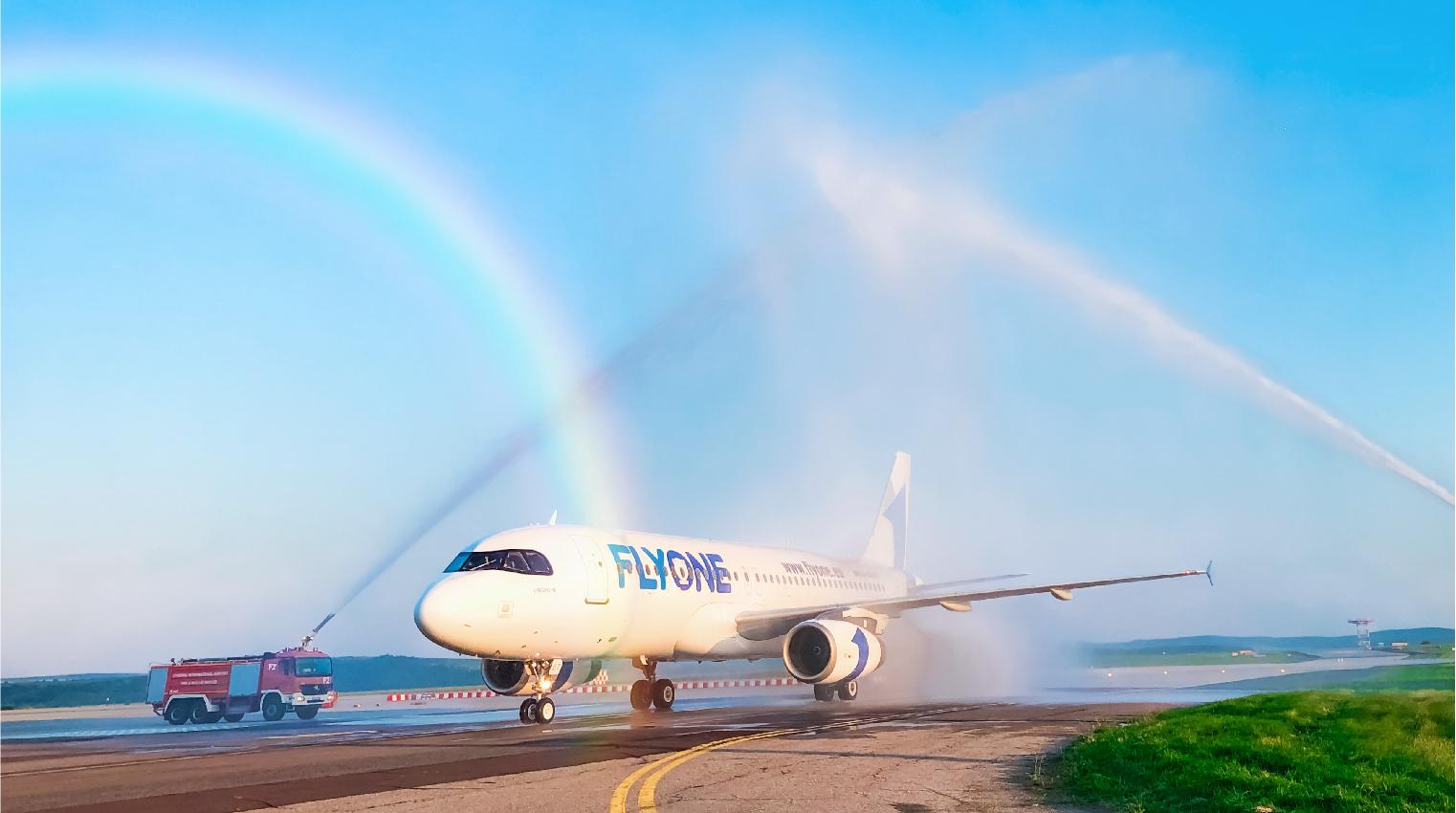В Украину заходит молдавский лоукостер FlyOne