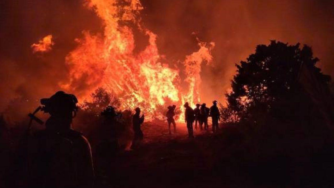 В нескольких регионах Испании бушуют лесные пожары