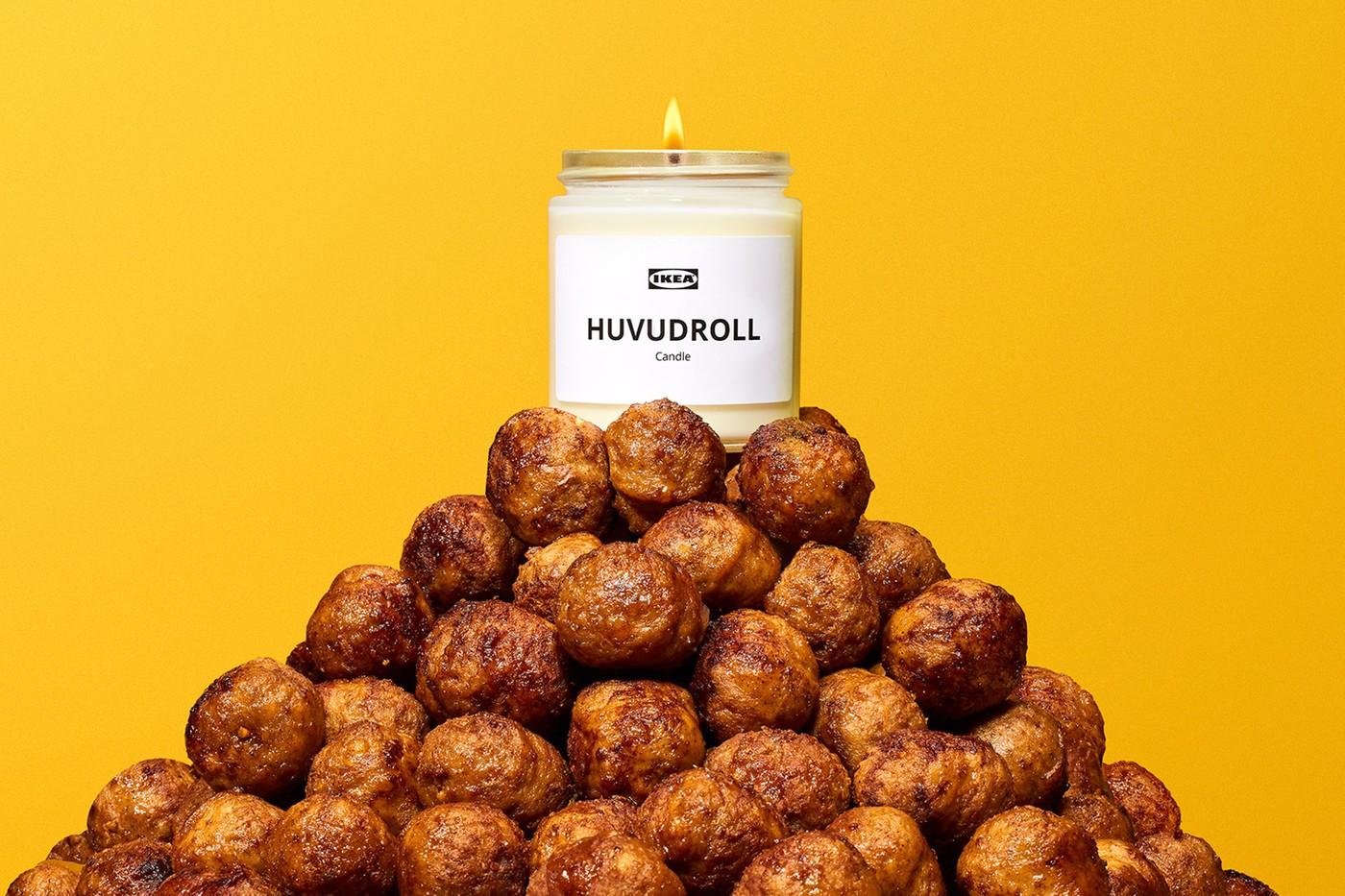 Вещь дня. IKEA выпустила свечи с ароматом фрикаделек