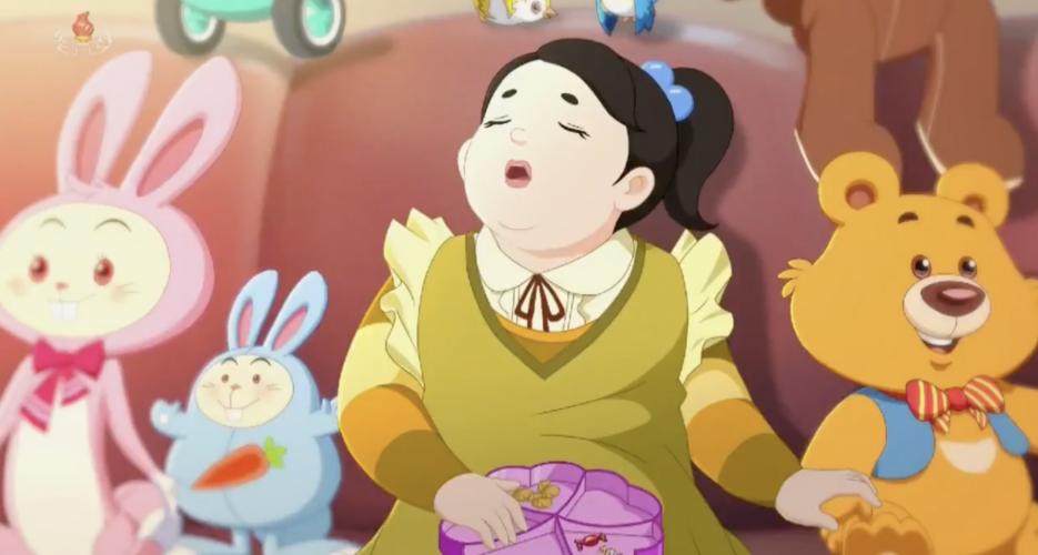 ГосТВ Северной Кореи показало мультфильм с критикой ожирения. Сейчас страна на грани голода