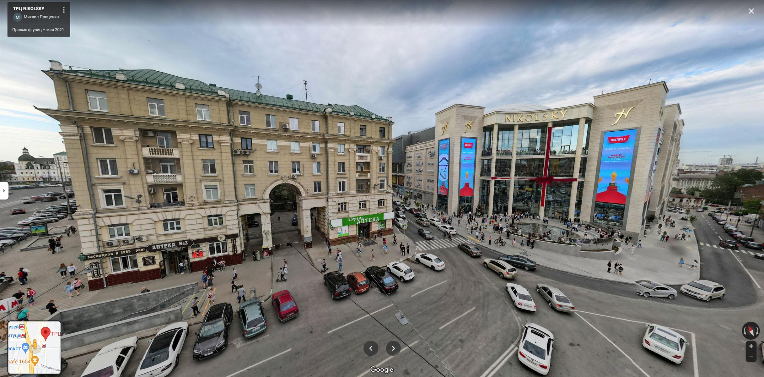 Фото — Google maps, пользователь Михаил Проценко.