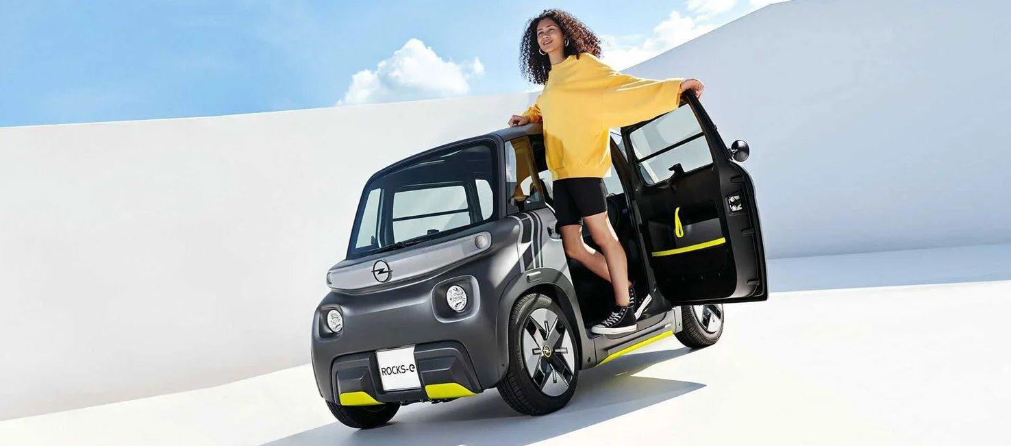 Opel представила электрокар для подростков