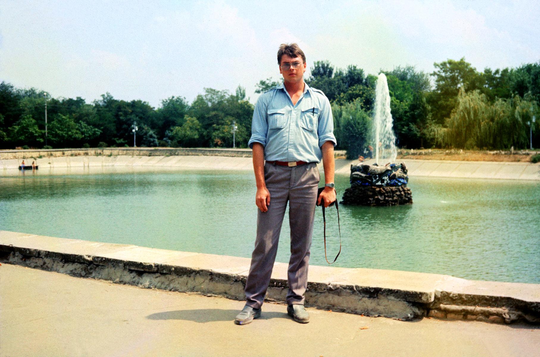 Фото 1989 года.