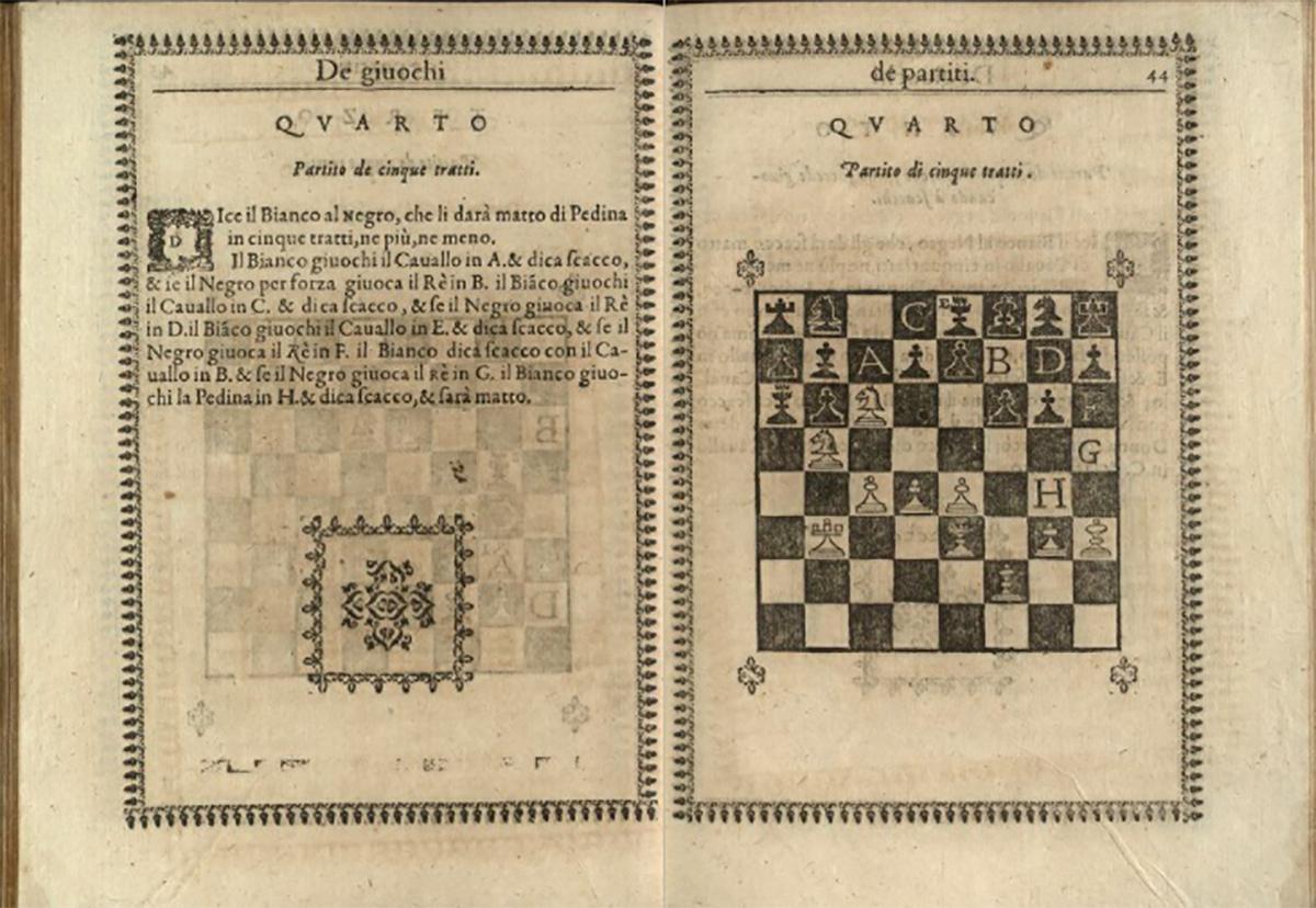 В Италии оцифровали старейшее руководство по игре в шахматы