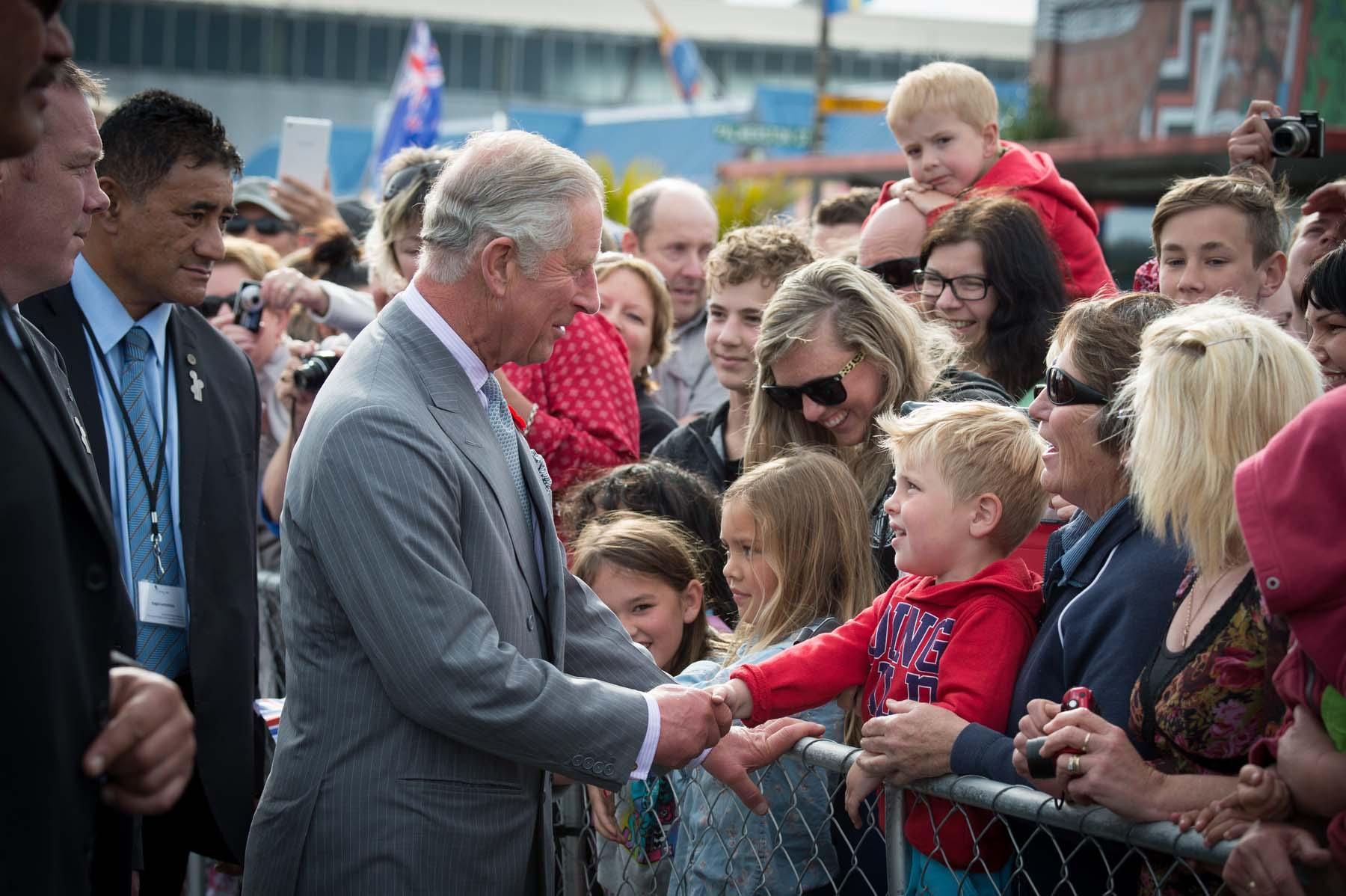 Принц Чарльз в Новой Зеландии в 2015 году. Фото – Wikipedia.