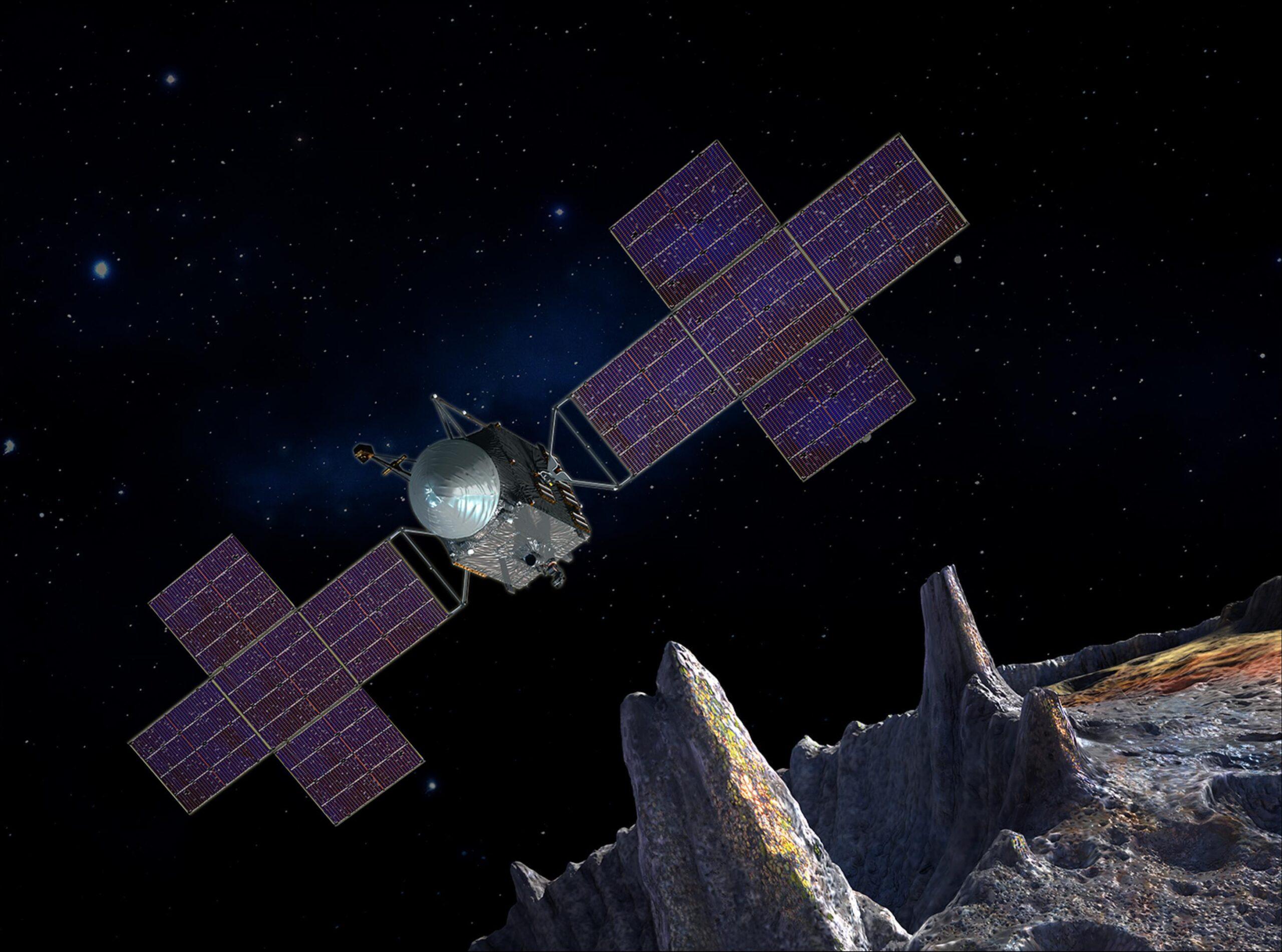 NASA показало, как выглядит полет на самый дорогой астероид