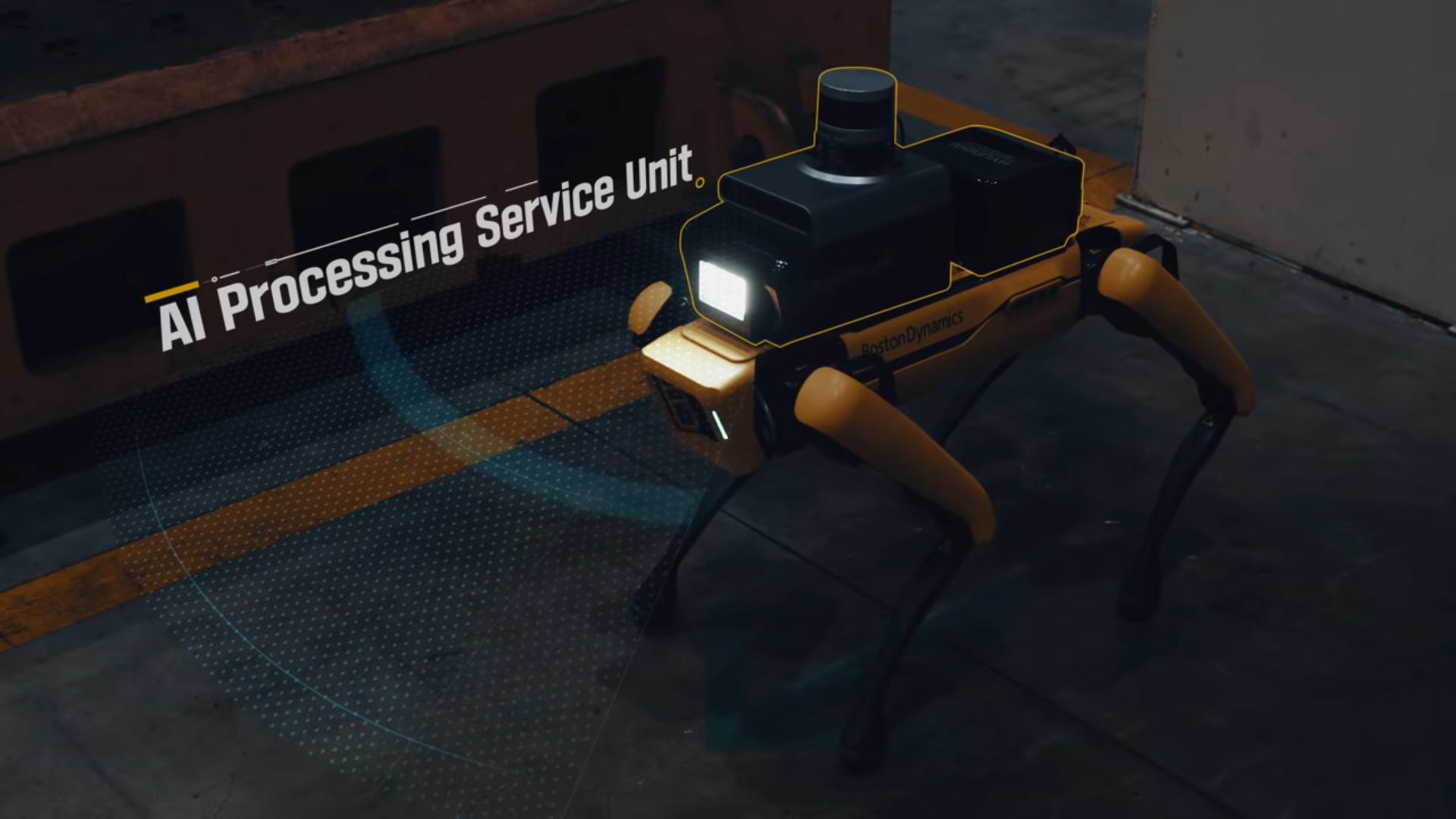Робопес от Boston Dynamics начал работать в Hyundai. Сторожем на заводе