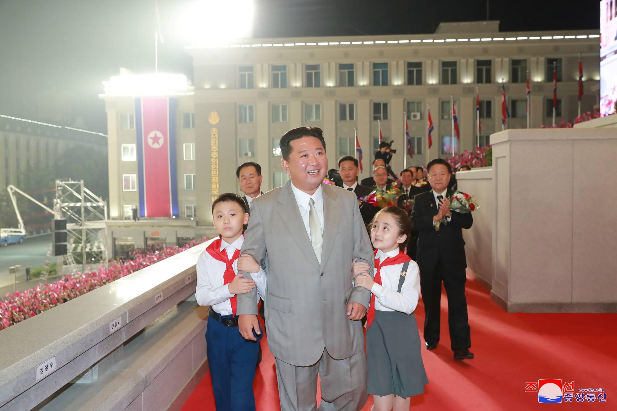 Фото — KCNA / AFP.