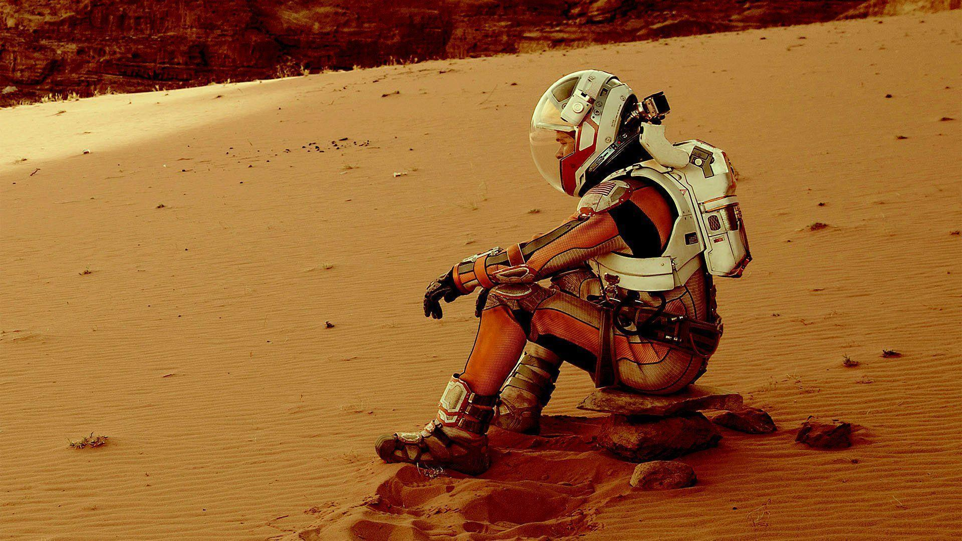 Ученые предлагают строить марсианские базы из крови, слез и пота астронавтов. Буквально