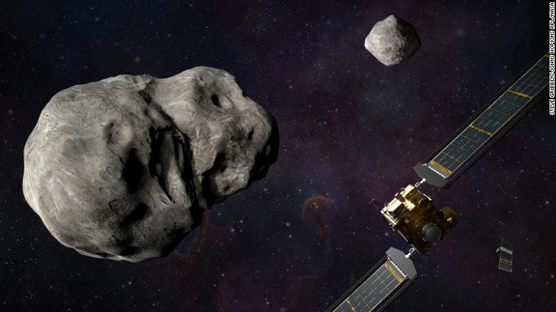 Аппарат NASA врежется в астероид. Чтобы защитить Землю