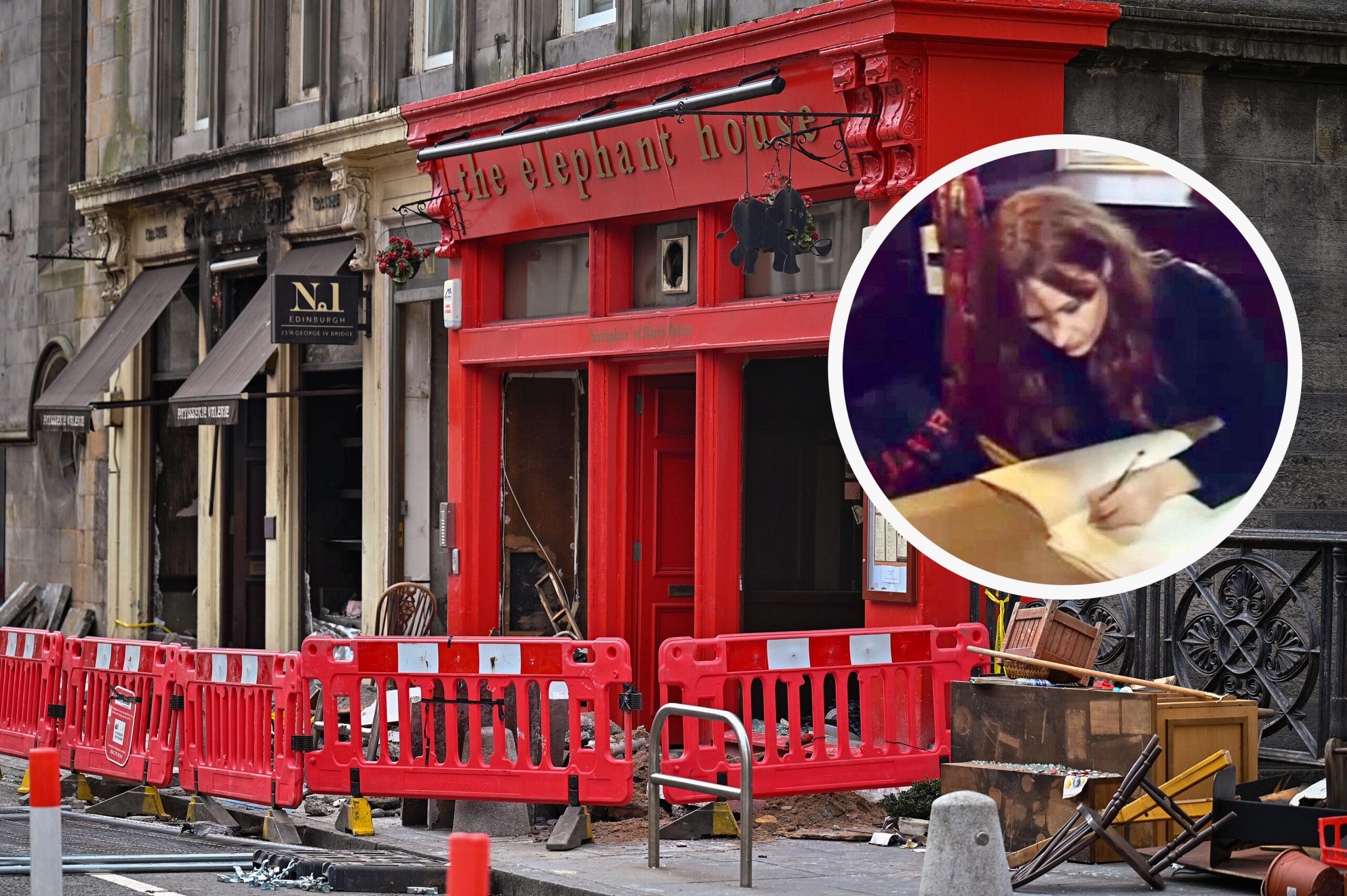 Сгорело кафе, в котором Джоан Роулинг писала первую книгу о Гарри Поттере