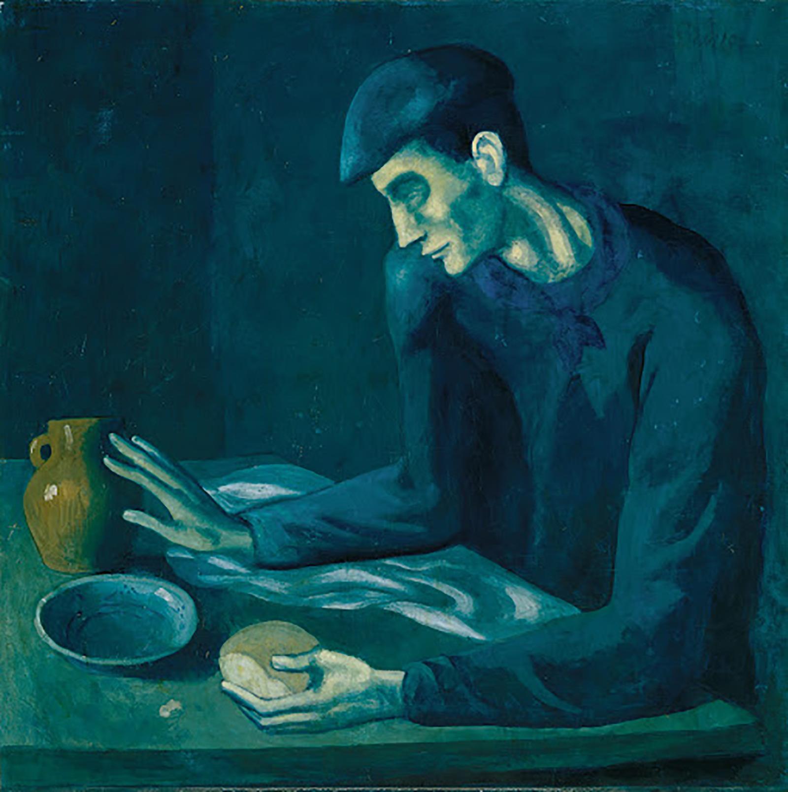 «Завтрак слепого» — Пабло Пикассо.