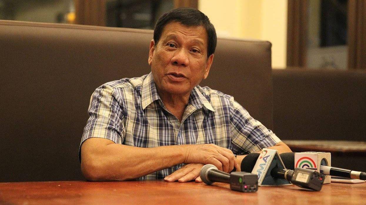 На фото — президент Филиппин Родриго Дутерте. Источник — Presidential Communications Operations Office.