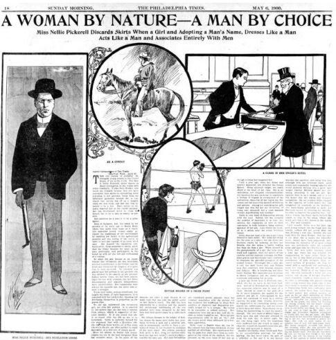 Статья о Генри Аллене. Фото — History is Gay